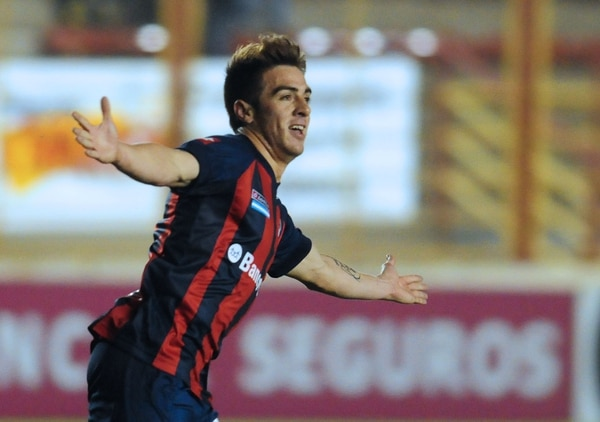 Julio Buffarini fue clave en la conquista de San Lorenzo de la Copa Libertadores(NA)