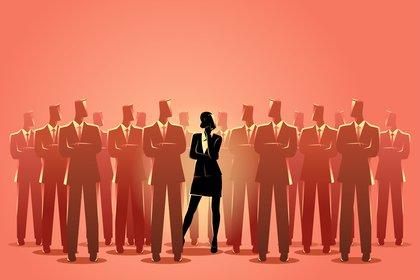 Los hombres tienen menos probabilidades que las mujeres de necesitar inteligencia y trabajo duro para crecer laboralmente, revelan los datos arrojados por una investigación (Shutterstock)