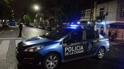 Patrullero de la Policía de la Ciudad