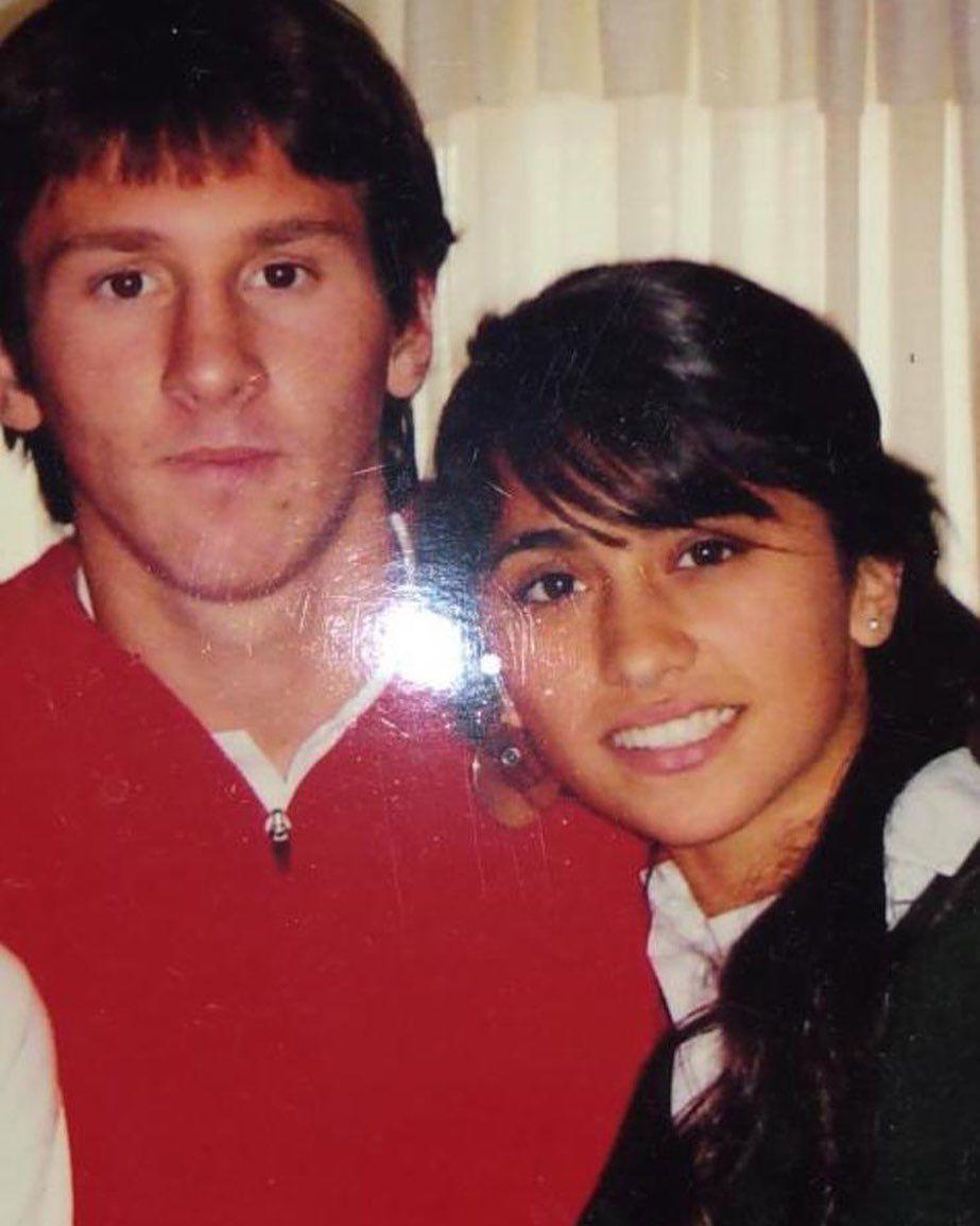 La foto inédita de Messi y Antonela cuando eran adolescentes