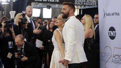Ricky Martin recibió más de 180 premios y el reconocimiento de otras celebridades como Lady Gaga (REUTERS/Monica Almeida)