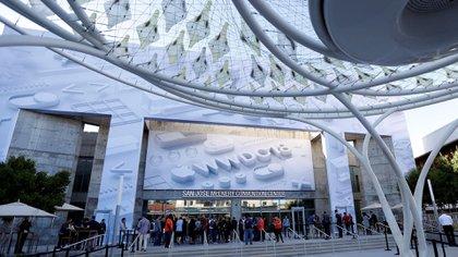 Laconferencia de desarrolladoresde Apple se lleva a cabo en el Centro de Convenciones de San José, California (EFE/ Monica M. Davey)