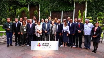 Alberto Fernández es el único presidente en ejercicio que participa del Grupo de Puebla