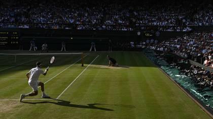 Desde el All England Lawn Tennis Club hasta el momento no han informado de un cambio de fecha de Wimbledon (AFP)