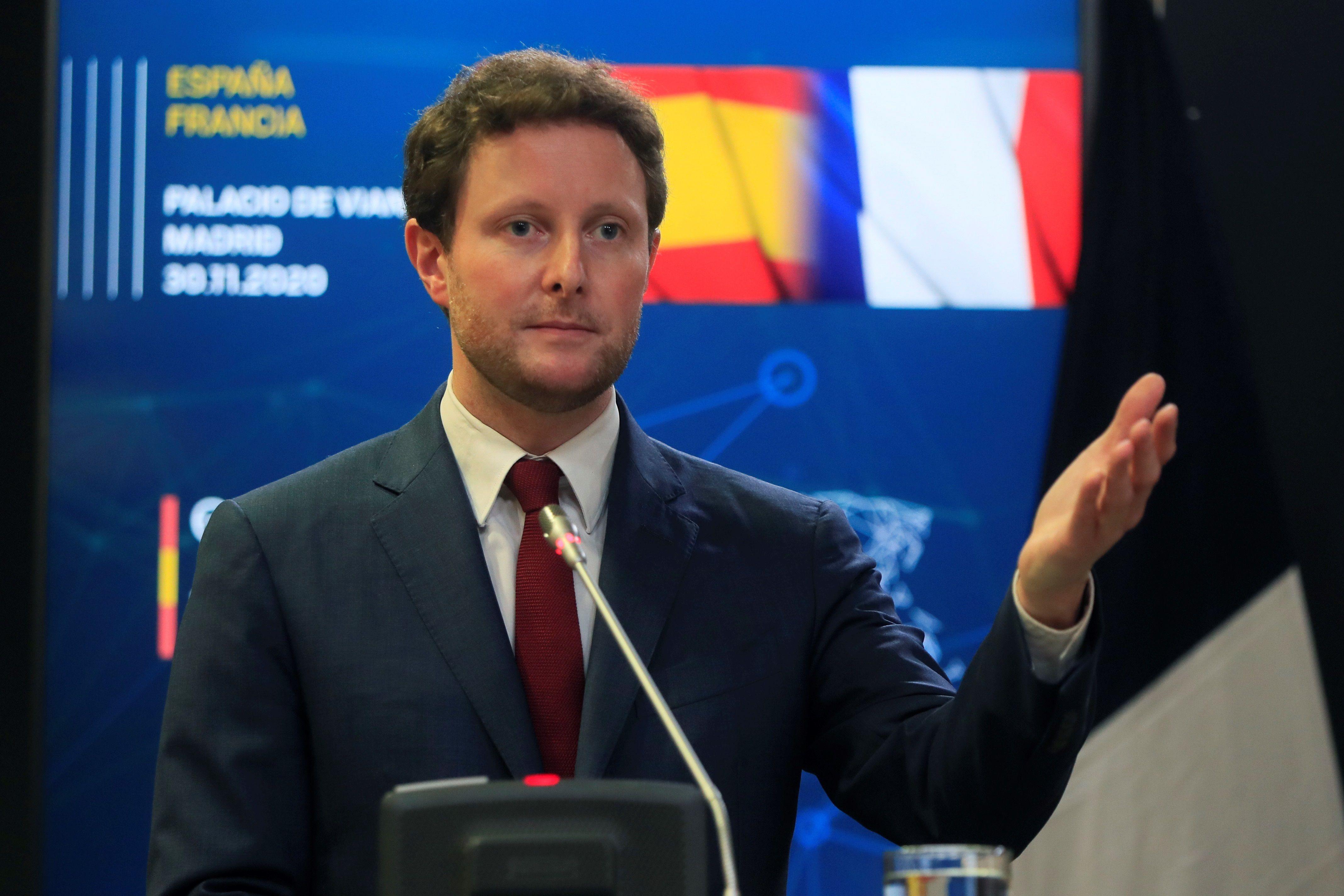 El secretario de Estado del Ministerio de Europa y Asuntos Extranjeros, Clément Beaune.. EFE/ Fernando Alvarado/Archivo