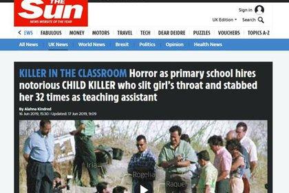 Los medios de Europa titularon con el crimen y con la vida posterior de las asesinas