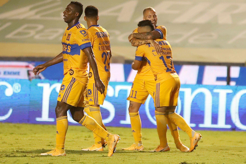 En la imagen, jugadores de Tigres. EFE/Antonio Ojeda/Archivo