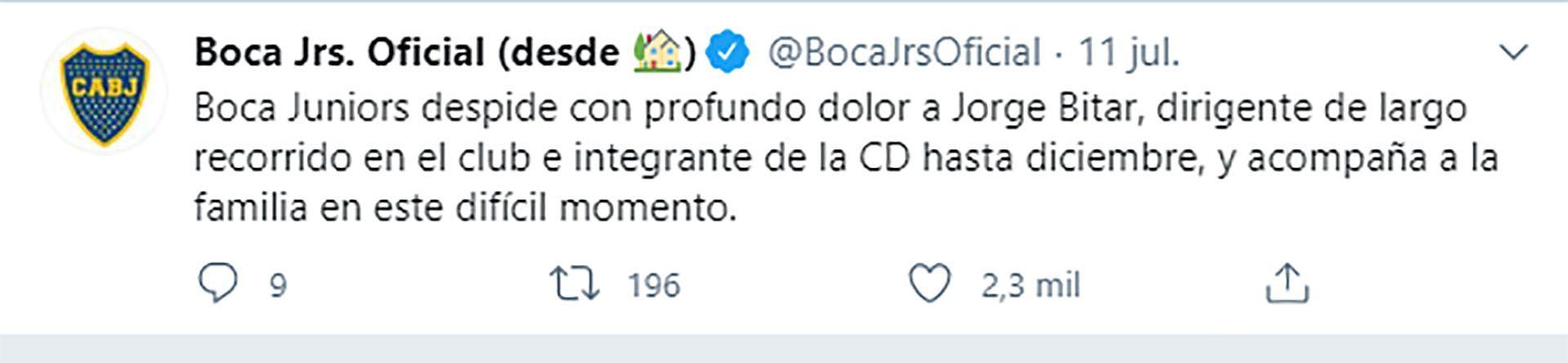 Jorge Bitar - Boca