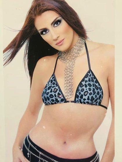 Azalia compartió esta foto con la que eligió para unirse a las filas de Nuestra Belleza México representando al Estado de México en 1996 (Foto: Facebook @azalia la negra)