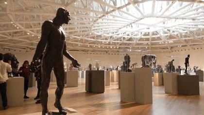 El Museo Soumaya ha trabajado con Google para la digitalización de su acervo. (Foto: Juan Vicente Manrique/Infobae México)