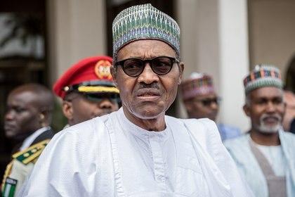 31/08/2018 El presidente de Nigeria, Muhammadu Buhari POLITICA INTERNACIONAL Michael Kappeler/dpa