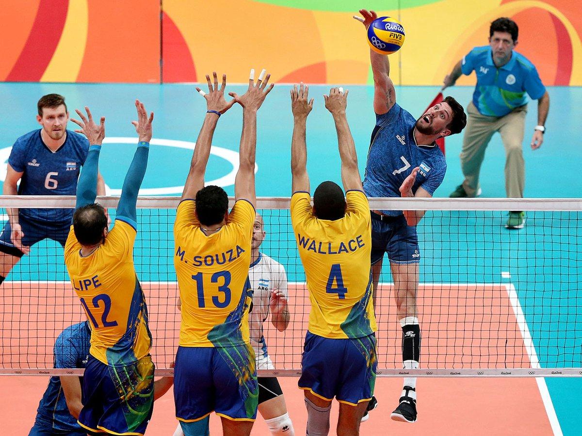 Argentina Perdio El Clasico Del Voley Con Brasil Y Se Despidio De Los Juegos Olimpicos Infobae