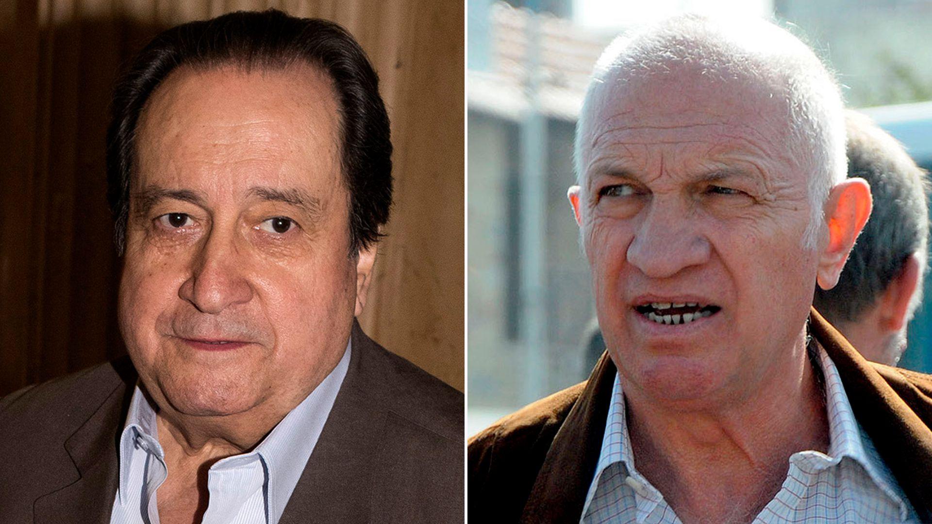 Carlos León Arslanian y Aldo Rico