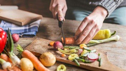La preparación de cada plato es un espectáculo para lossentidos