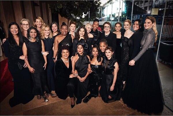 Time's Up, la campaña contra la discriminación de género que marcó la última edición de los Globo de Oro
