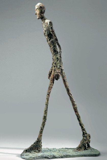 """""""El hombre que camina"""", de Alberto Giacometti"""