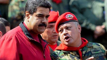 Nicolás Maduro y Diosdado Cabello, los cabecillas del régimen chavista en Venezuela