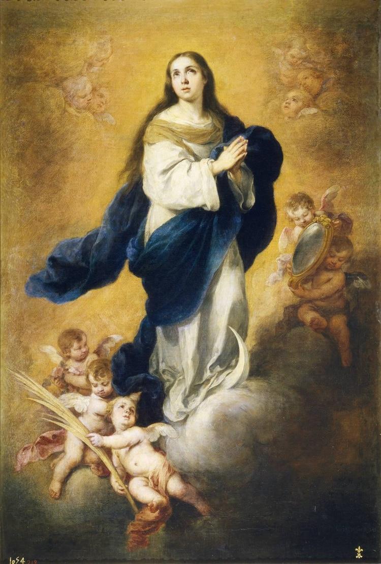 Inmaculada Concepción de Giambattista Tiepolo,obra realizada en 1769