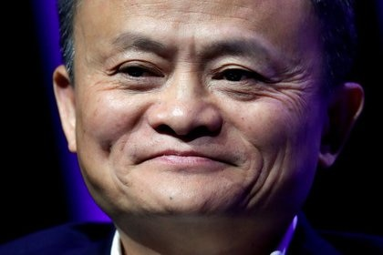 FOTO DE ARCHIVO. El fundador y presidente del gigante chino de Internet Alibaba, Jack Ma, da un discurso en la reunión de líderes de alta tecnología y empresas emergentes de alto perfil de París, Viva Tech, en París, Francia. 16 de mayo de 2019. REUTERS/Charles Platiau