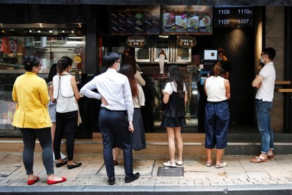Hong Kong durante la pandemia de COVID-19. REUTERS/Tyrone Siu