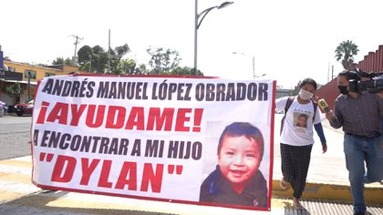 Juana Pérez, mamá de Dylan (Foto: Infobae México)
