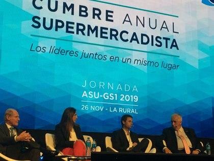 Las estimaciones presentadas en la cumbre anual de los supermercadistas estiman una retracción en las ventas del 7% para el año en curso.