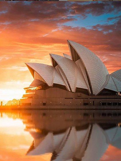 La sydney opera house es uno de los lugares más fotografiados (@aussie_images)