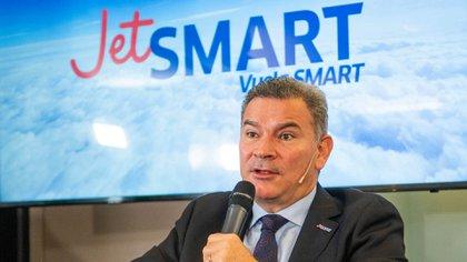 Estuardo Ortiz, CEO de JetSmart