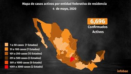 La Ciudad de México continúa siendo la región más afectada por la epidemia de COVID-19 (Foto: Steve Allen/ Infobae México)