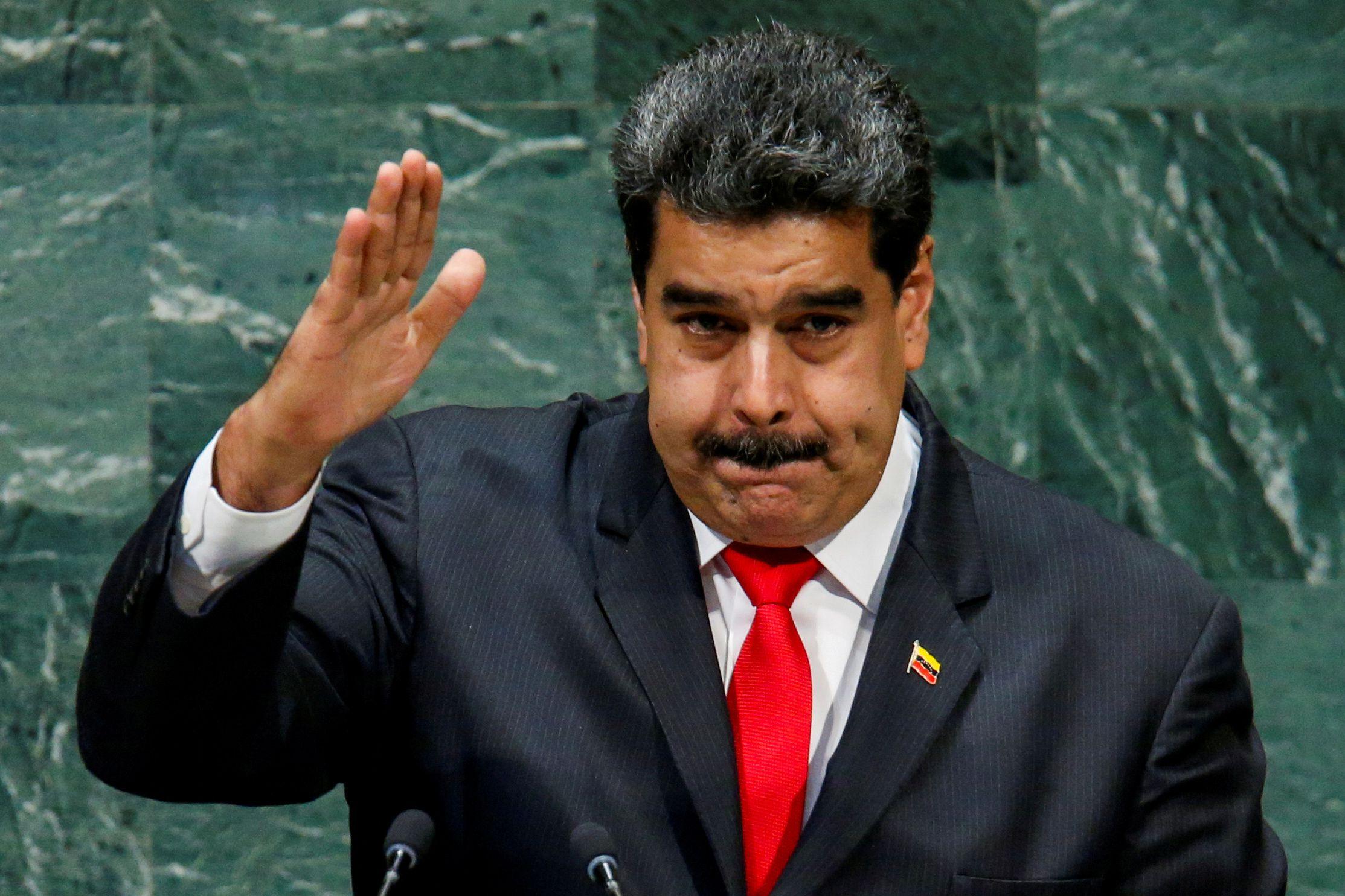 El dictador Nicolás Maduro (REUTERS/Eduardo Munoz/File Photo)