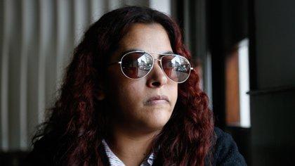 Susana trabaja como telefonista en la Corte Suprema de Justicia (Nicolás Aboaf)