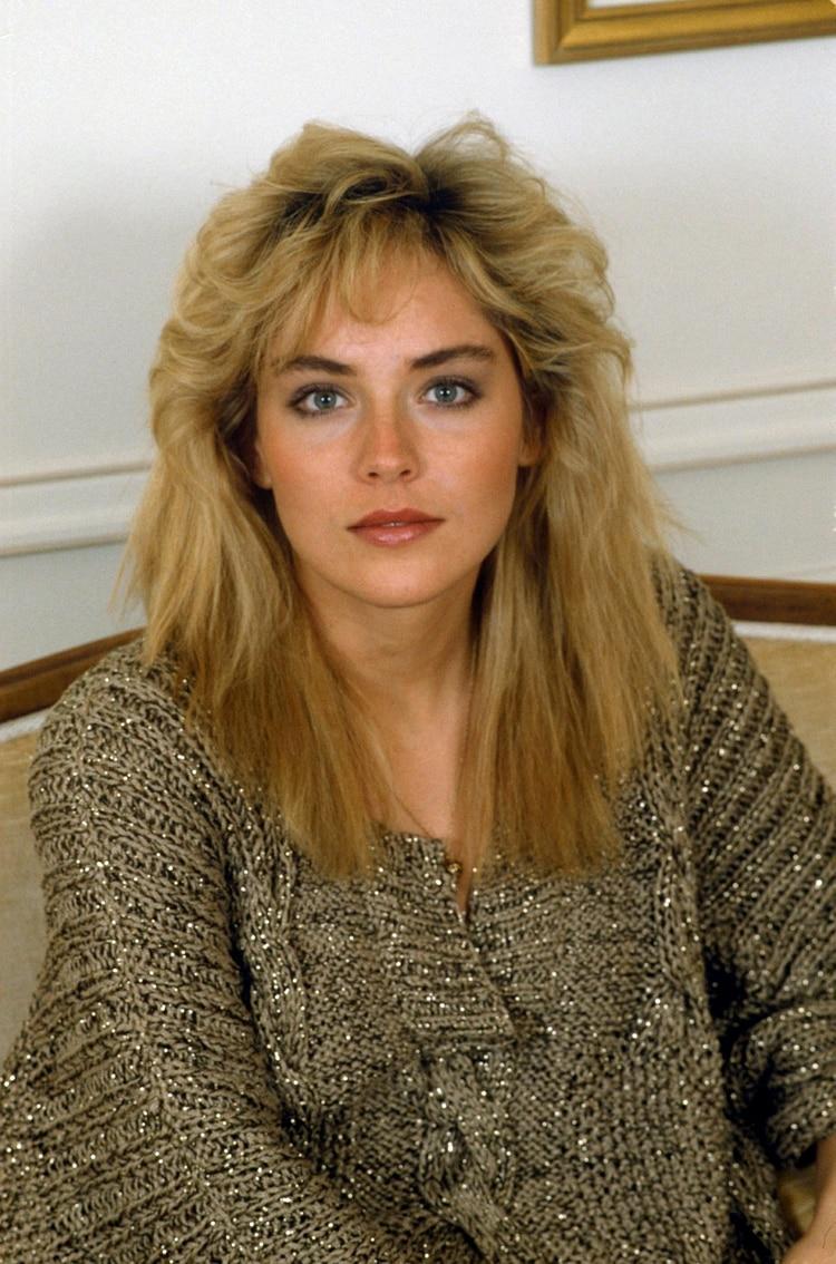 Sharon en los años 80 (Shutterstock)