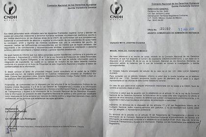 La CNDH hizo oficial la admisión de la queja (Foto: Especial)
