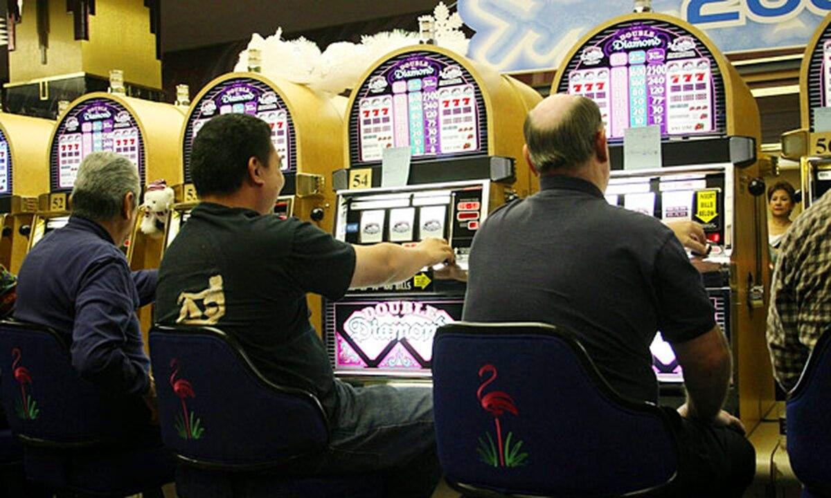 Maquinitas del casino