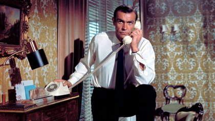 Connery como James Bond (Shutterstock)