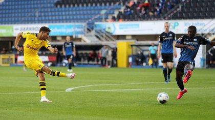 La Bundesliga regresó a puertas cerradas, y así lo harán La Liga, la Premier League y la Serie A (Reuters)