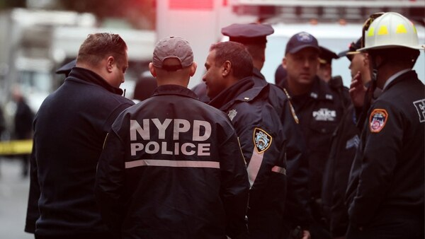 El operativo realizado este viernes en Nueva York (Reuters)