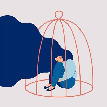 """""""La depresión y el riesgo de suicidio son mucho más fuertes que lo habitual, debido a que los jóvenes sienten que han perdido su proyecto de vida"""" (Shutterstock)"""