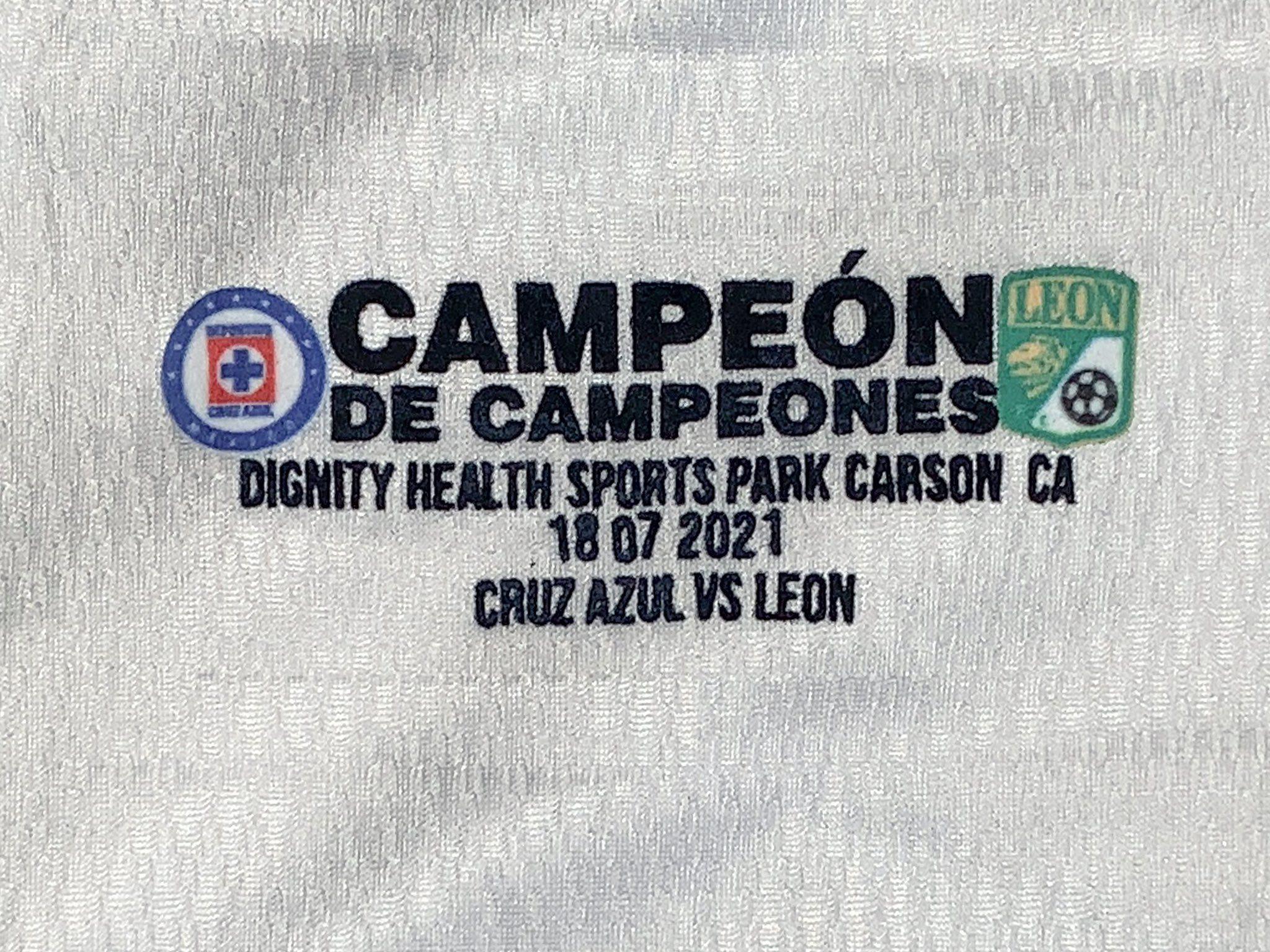 Playera nueva Cruz Azul Campeón de Campeones