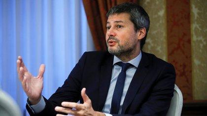 El ministro de Deportes , Matías Lammens. (EFE/Juan Carlos Hidalgo)