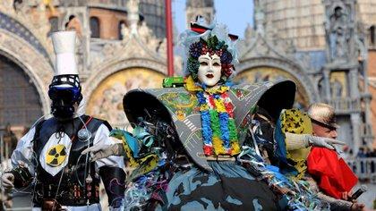 El Carnaval de Venecia se llevará a cabo desde el 16 de febrero hasta el 5 de marzo de 2019 (EFE)