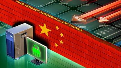 El modelo de Internet de Chinatiene un fuerte control del estado, que lo terceriza en las empresas.