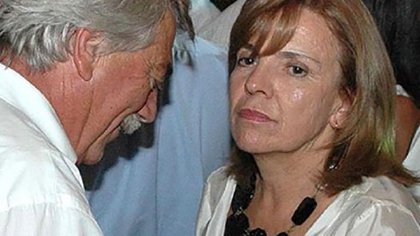 """Carlos """"El Gringo"""" Soria y su esposa y madre de sus cuatro hijos, Susana Freydoz."""