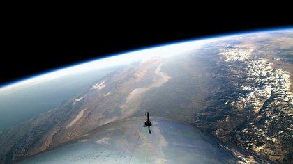 El primer vuelo espacial de Virgin Galactic el 13 de diciembre de 2018 (Virgin Galactic)