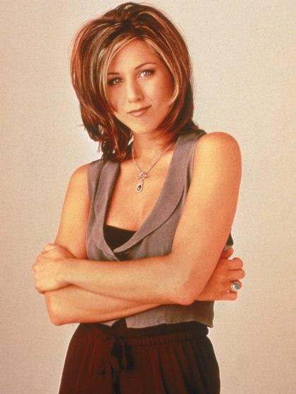 """Jennifer Anistoncon su icónico corte de la serie """"Friends"""" (NBC Television/Getty Images)"""