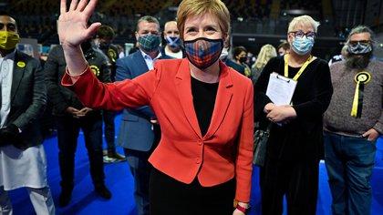 Nicola Sturgeon proclamó su victoria en Escocia y anunció que buscará un nuevo referéndum independentista