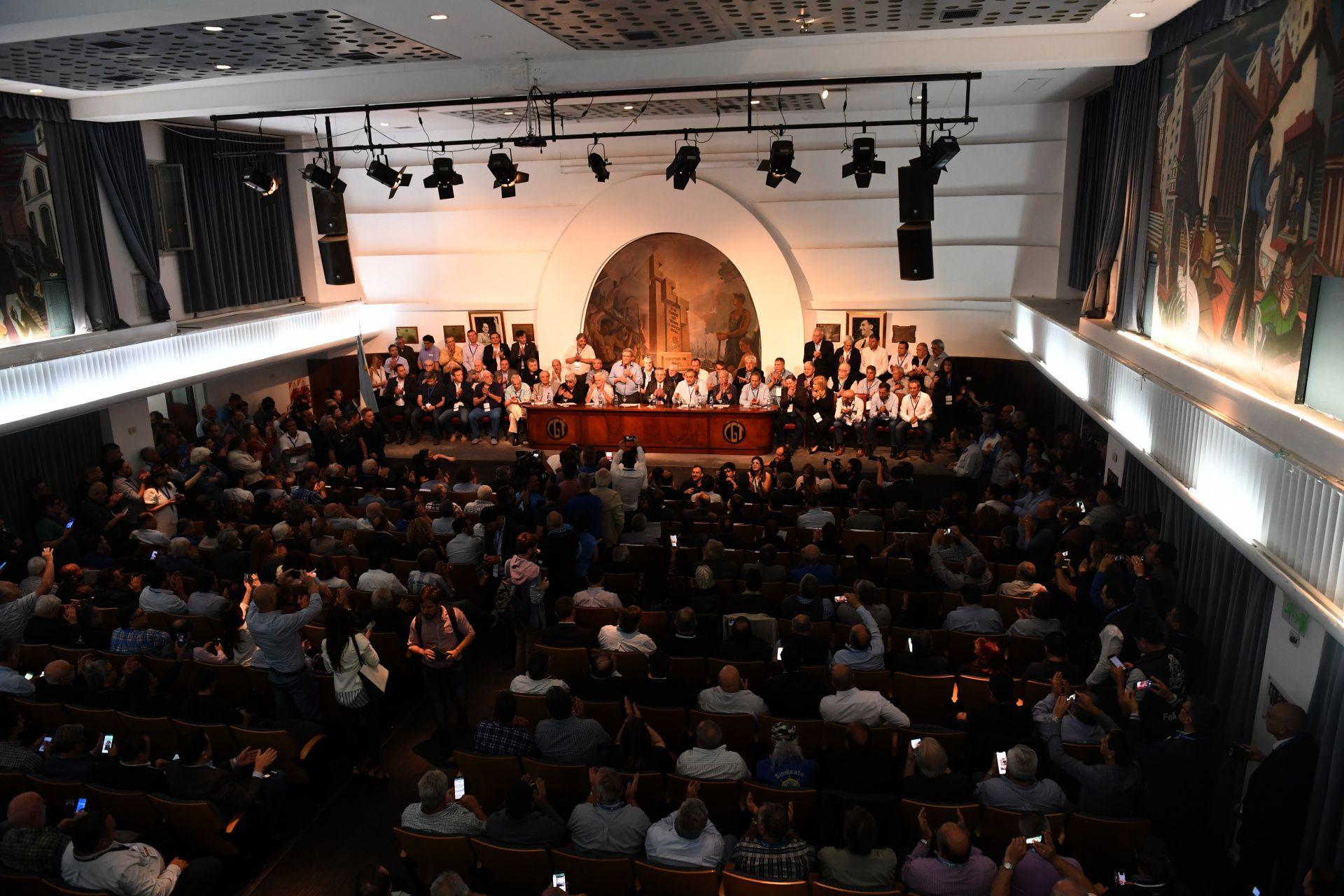 En este salón de la CGT, Felipe Vallese, Alberto Fernández encabezará el acto por el 17 de octubre