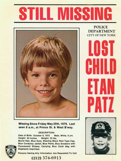"""En 2001, el tributo a Etan tomó vuelo internacional: el 25 de mayo fue también designado como el """"Día Internacional de los Chicos Desaparecidos"""""""