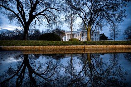 Vista general de la Casa Blanca en Washington DC, Estados Unidos. EFE/Jim Lo Scalzo/Archivo