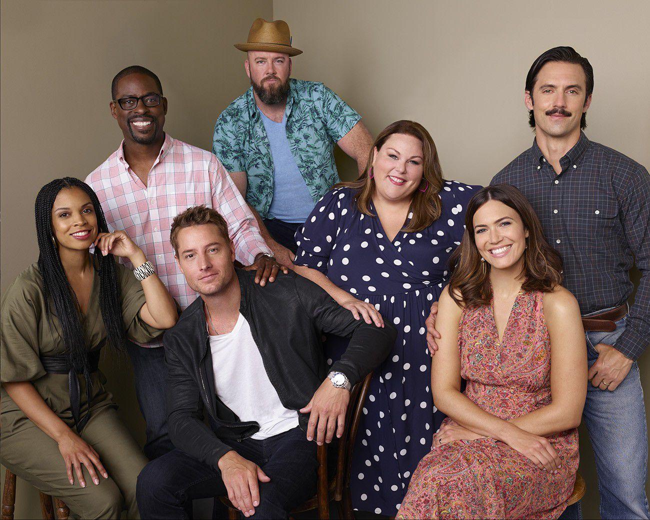 El elenco central de This Is Us que llega este miércoles a las 23 con episodio doble a la pantalla de Fox Premium